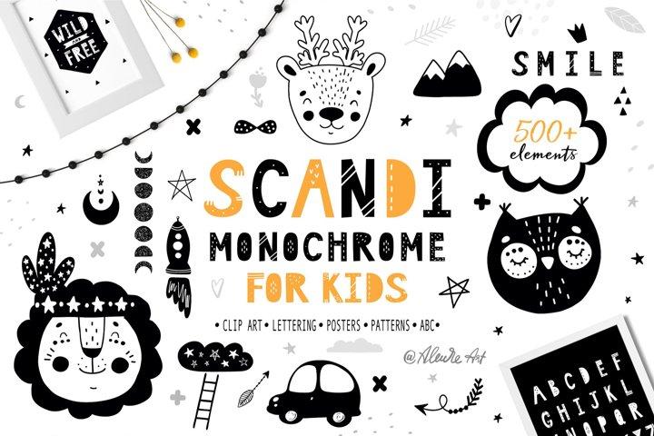 Scandinavian Monochrome for kids
