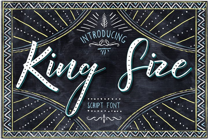King Size Font - Free Font of The Week Font