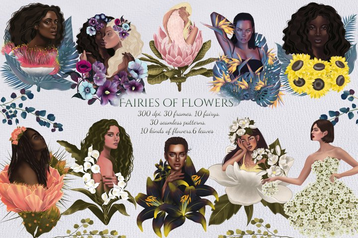 Fairies of Flowers bundle