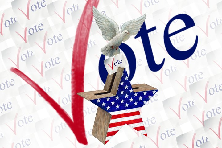 Vote Clipart, Voting Clipart, Voting Usa Clipart