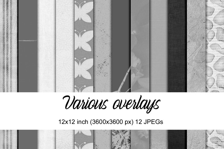 Various Overlays   Paper Templates