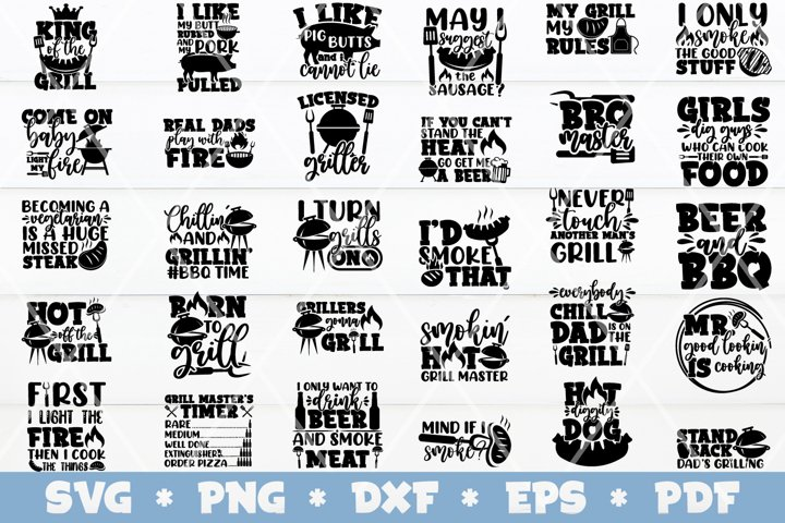 Barbecue SVG Bundle, Barbecue Quotes SVG, Barbecue SVG
