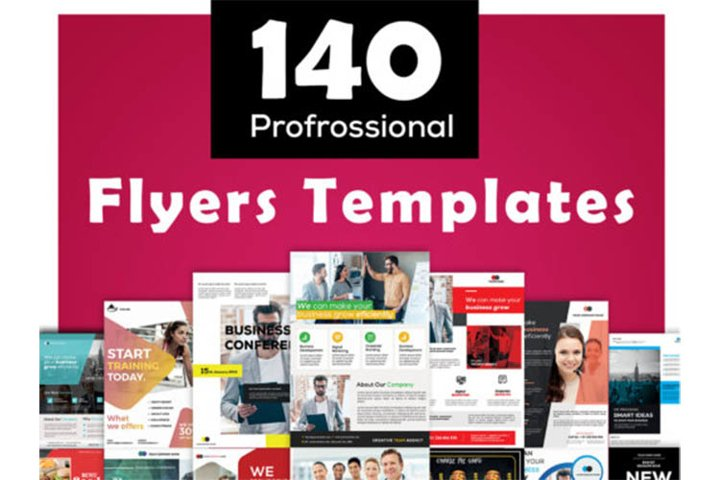 140 Flyers template