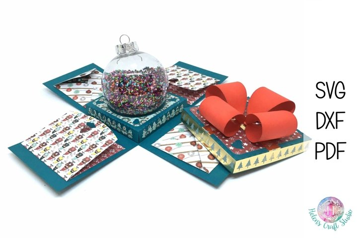 Christmas Ornament bauble Box