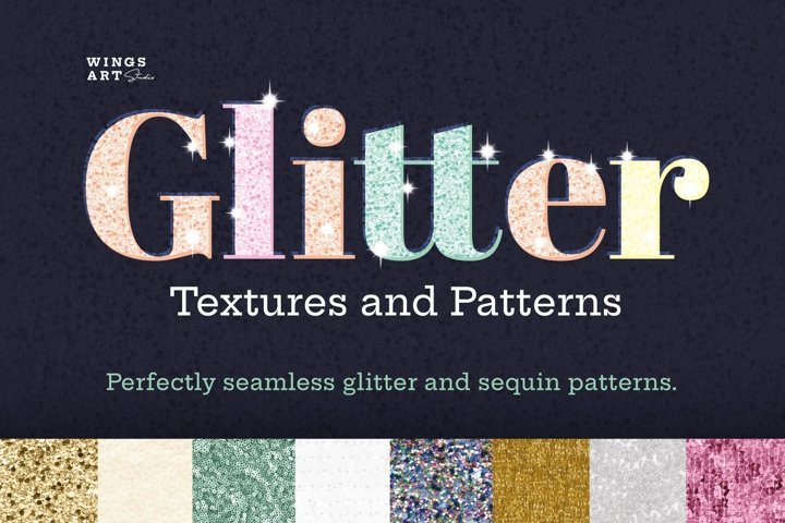 Glitter Textures and Patterns