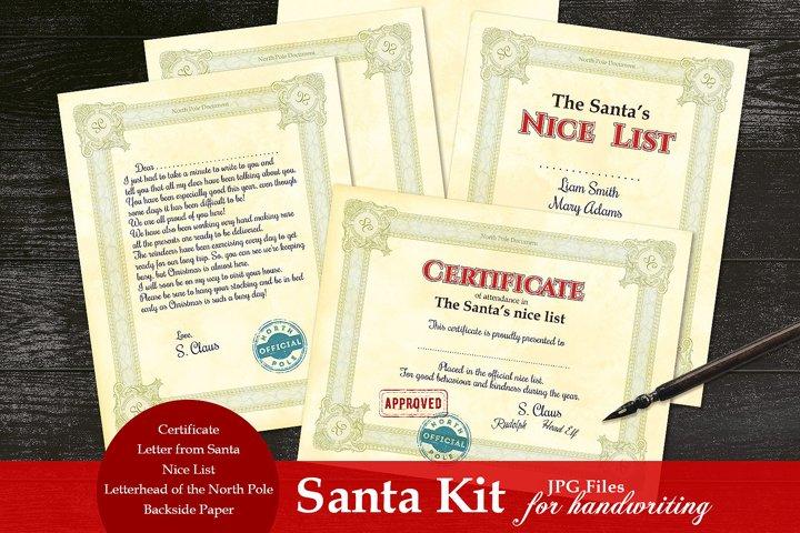 Digital Santa Kit- for Handwriting