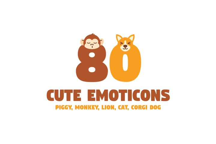 Cute Animal Emoticons