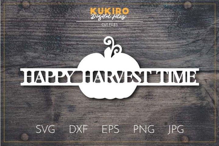 Download Happy Harvest / Svg Png Jpeg Dxf DXF