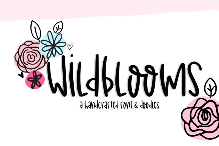 Wildblooms Handwritten Font