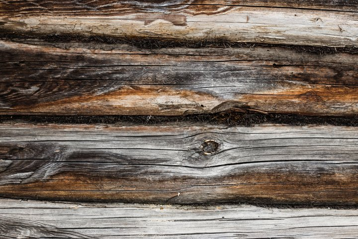 background from old textured wood in a row