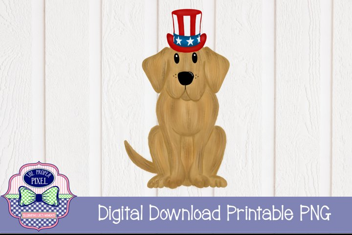 Patriotic Dog Design