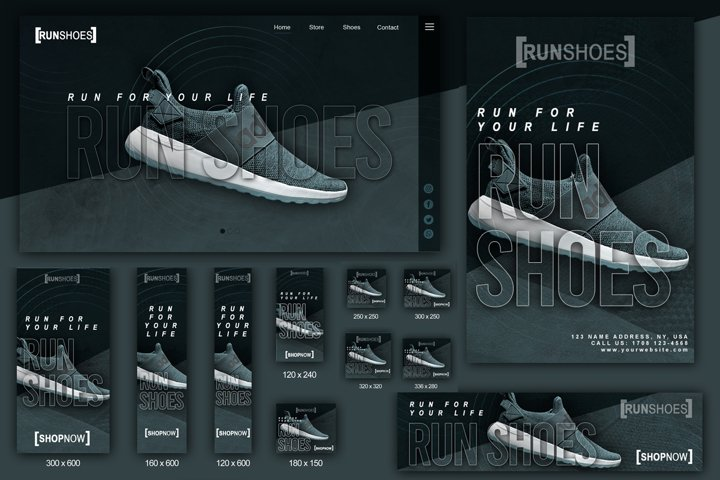Product Run Shoes