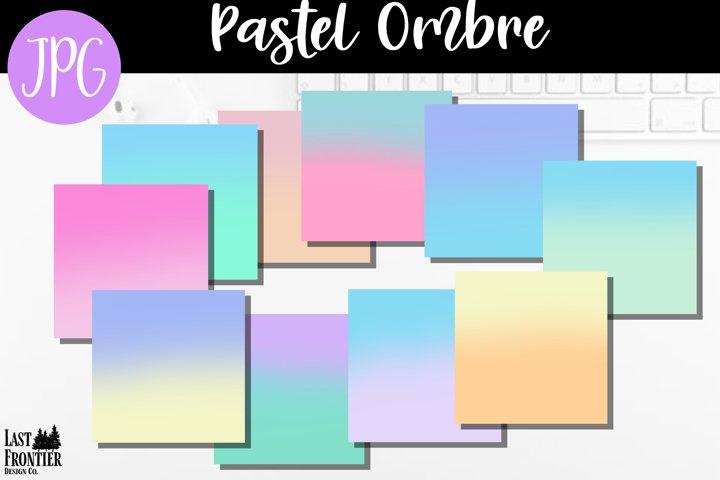 Pastel Ombre