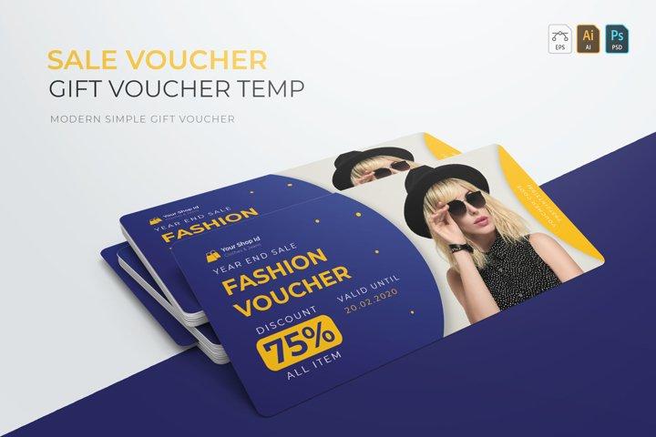 Sale Voucher | Gift Voucher