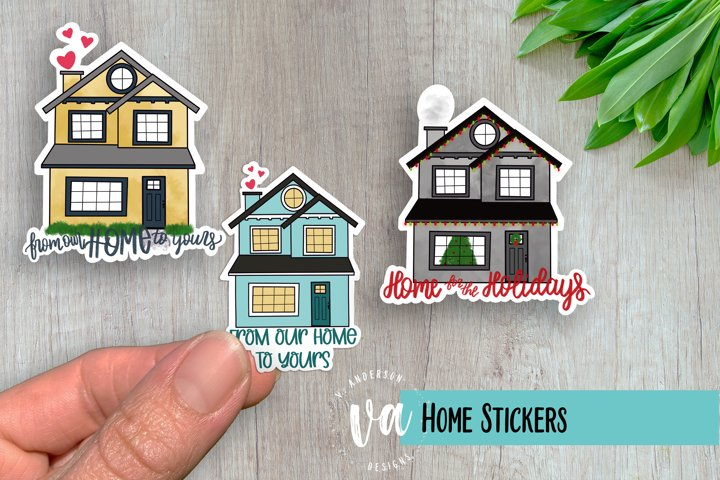 Home Sticker Pack PNGs