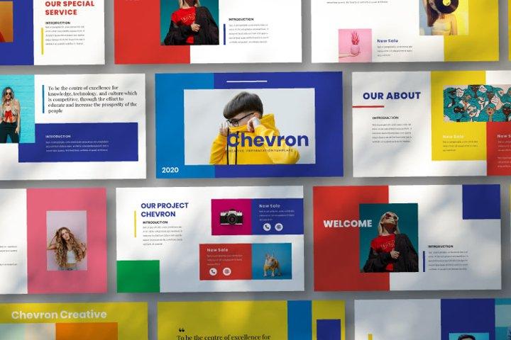 Chevron Google Slides Template