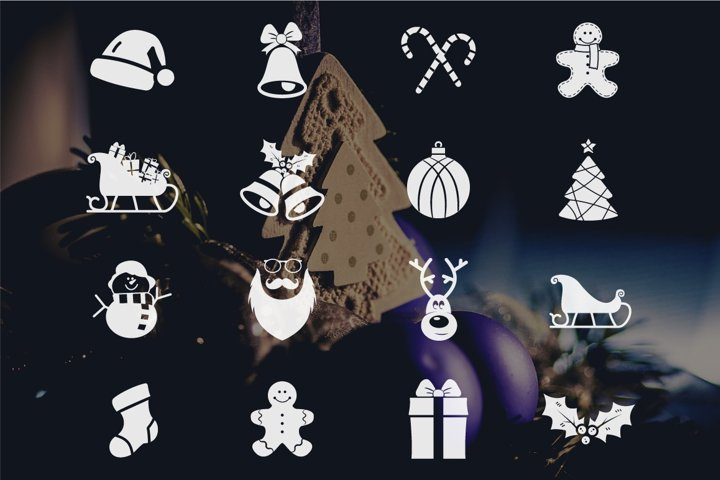 Christmas Icons Collection example 1