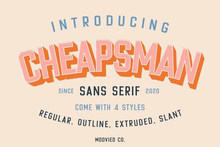 Cheapsman Sans