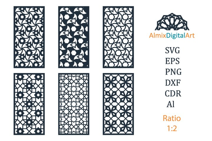 Room divider, privacy fence cnc. Decorative panels, screens.