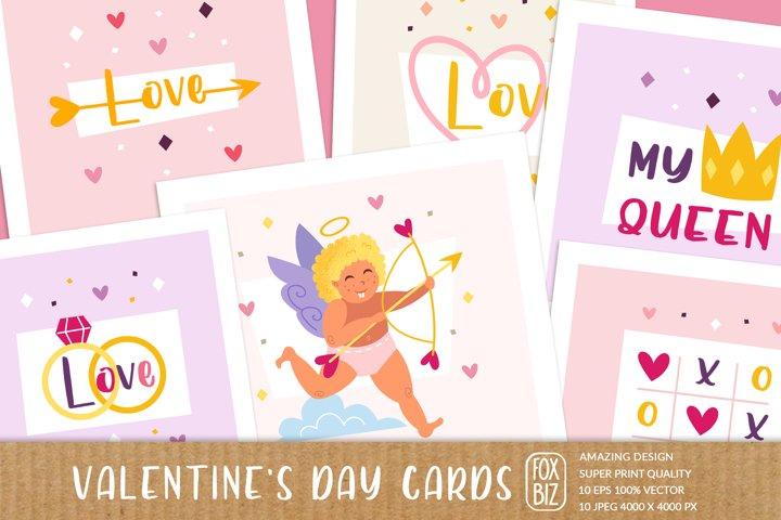 St Valentines Day digital greeting cards, invitations.