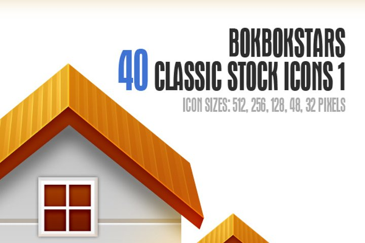 Bokbokstars Stock Iconsâ…