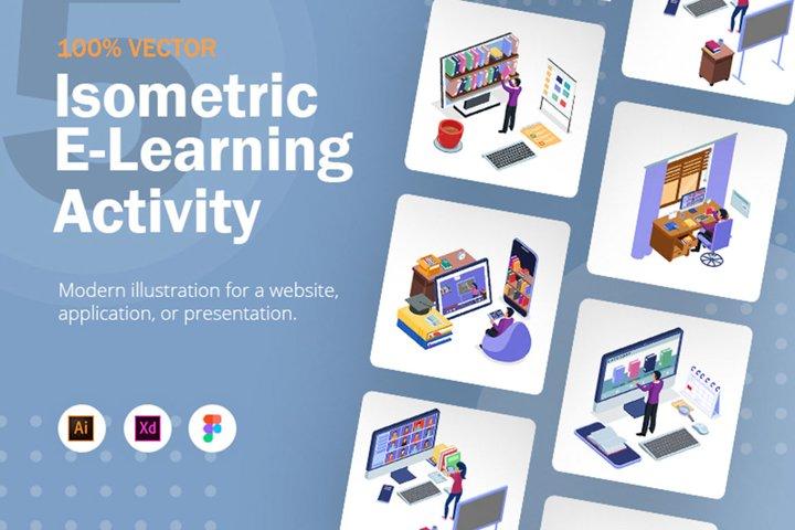 Isometric E-Learning Activity v2