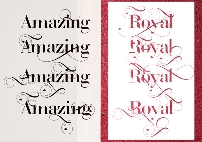 ROYAL TYPEFACE FONT - Free Font of The Week Design6