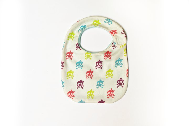 Baby Bib ITH Applique Embroidery Design File