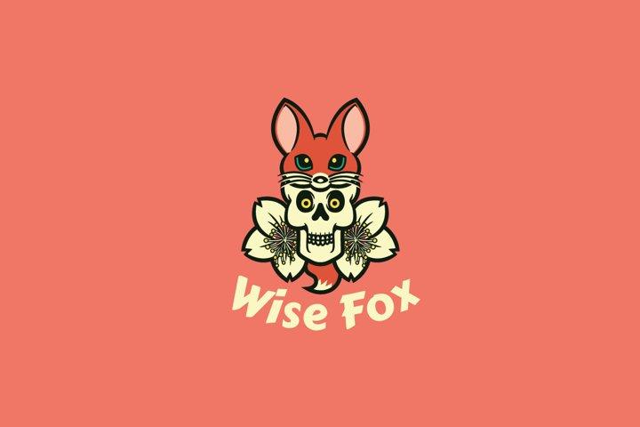 Wise Fox Logo Template