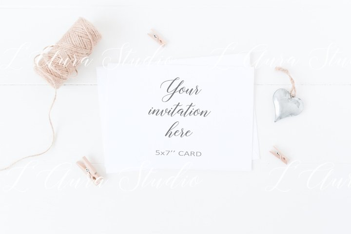 Wedding stationery mockup - Psd/Png
