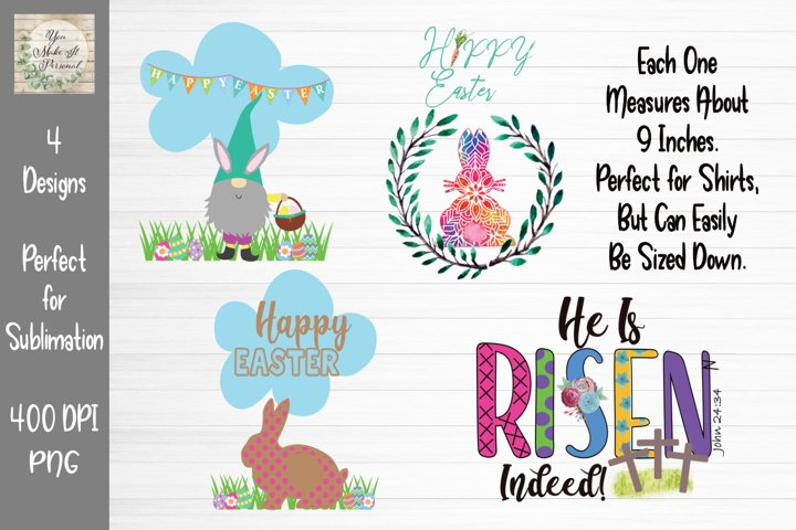 Easter Bundle, Easter Scenes, Happy Easter Bundle,