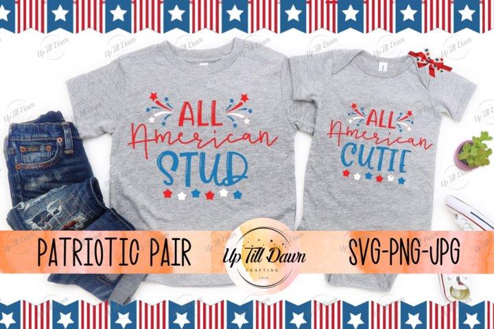 All American Kids SVG Bundle