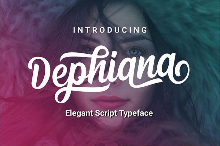 Dephiana - Web Font