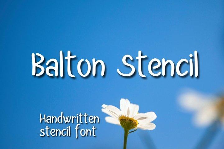 Balton Stencil