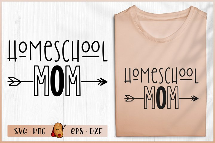 Homeschool Mom SVG - Teacher SVG - Homeschool Life SVG