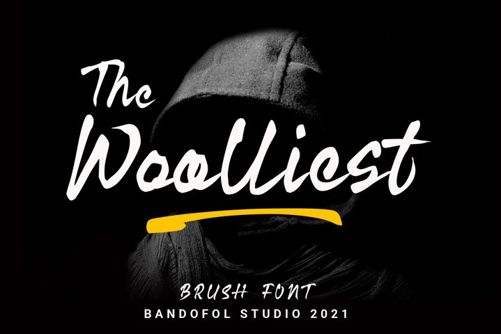Web Font | Woolliest Brush