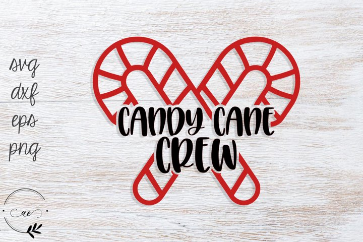 Candy Cane Crew SVG
