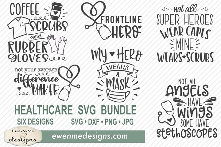 Healthcare Worker SVG Bundle - Nurse Doctor STNA