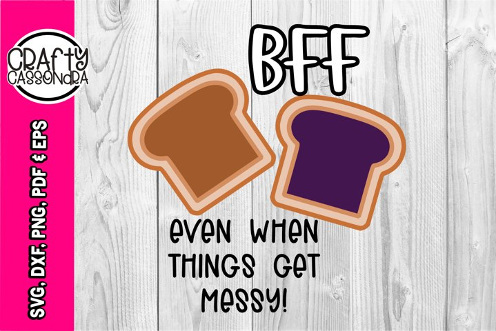 Toddler SVG - PB & Jelly - Best friends forever - cute svg
