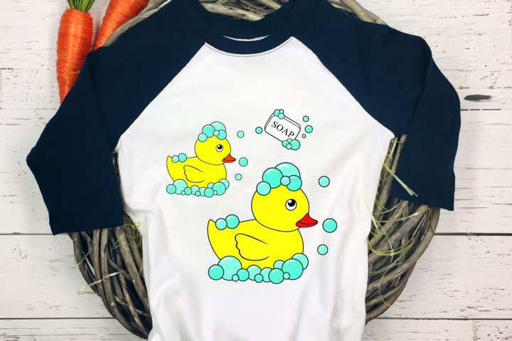 Cute Bath Ducky