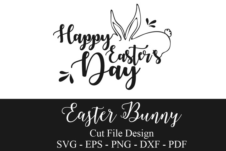 Easter Bunny SVG | Happy Easter SVG | Easter Day SVG