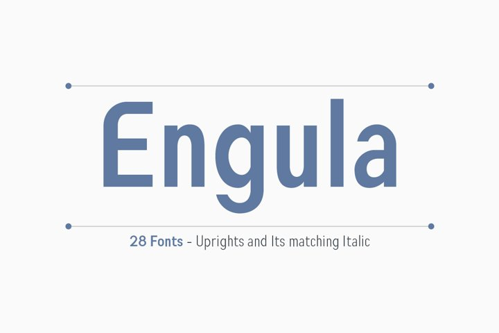 Engula Sans Serif Family