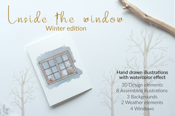 Inside the window - winter edition