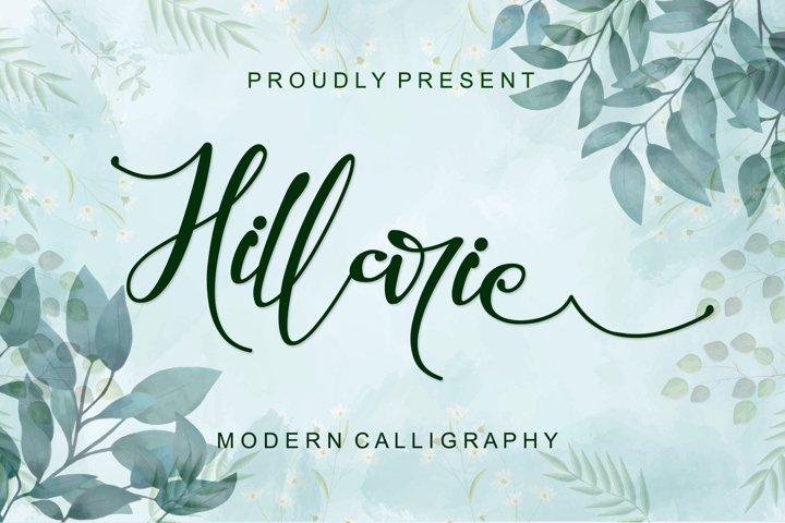 Hillarie - Modern Calligraphy