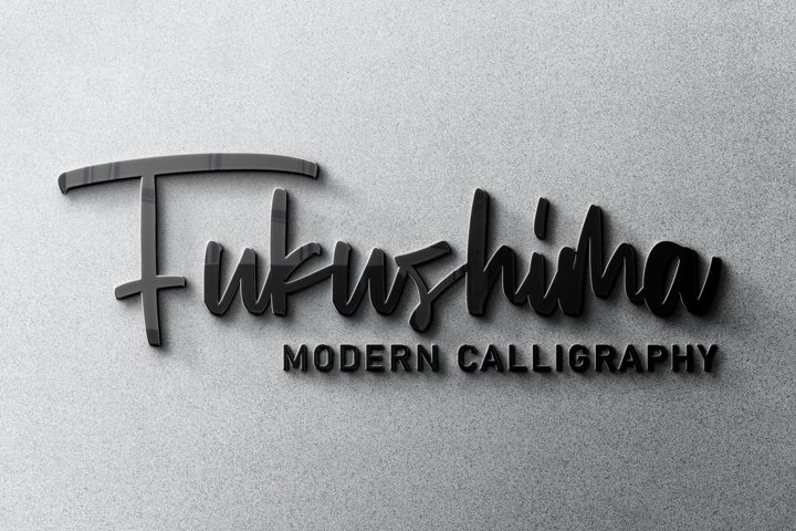 Fukushima Modern Calligraphy