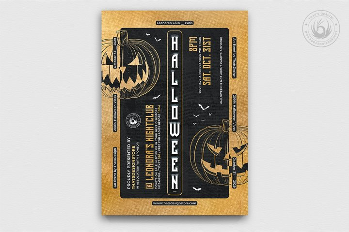 Halloween Flyer Template V27