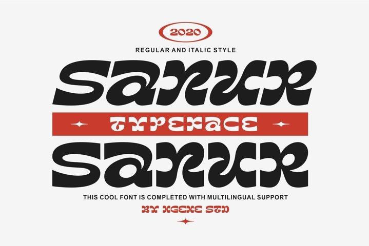 Sanur Font Duo