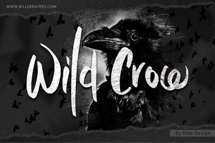 Wild Crow - WEB FONT