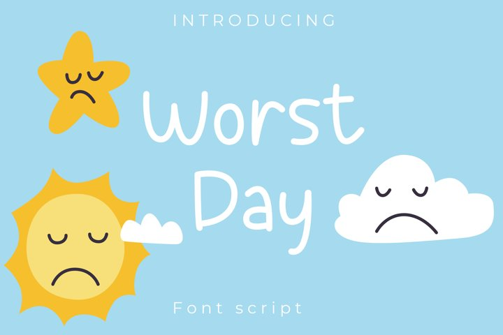 Sunny day Playful font