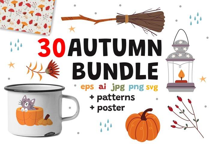 Autumn comfort and coziness bundle